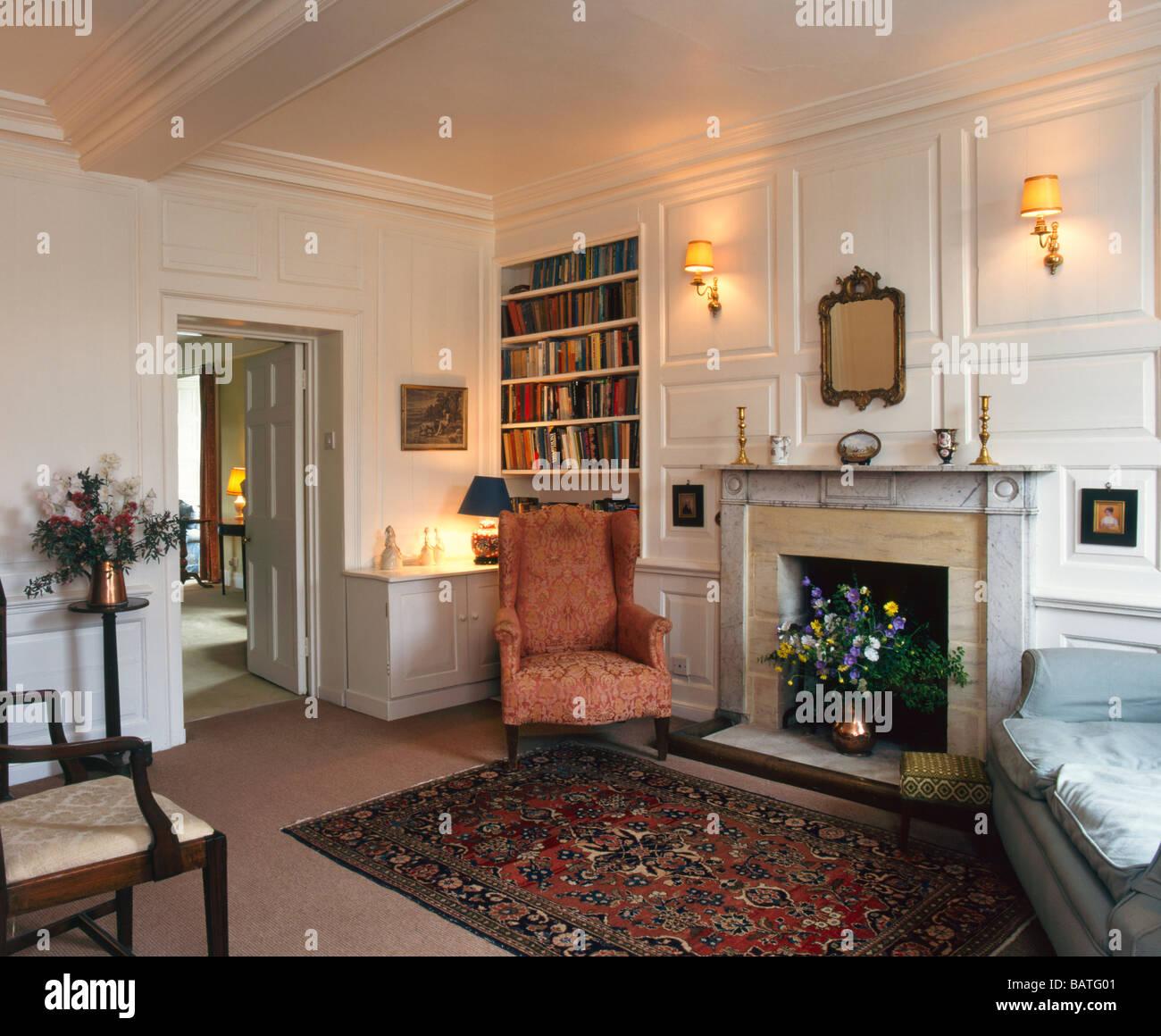 Classic English Living Room  0425
