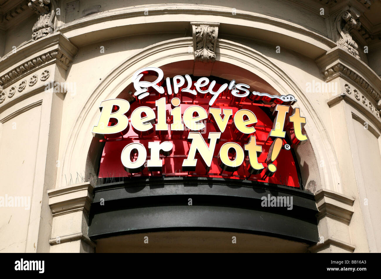 Ripley S Believe It Or Not Museum Piccadilly Circus London
