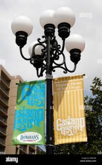 Gas Lamp District Stock Photos & Gas Lamp District Stock ...