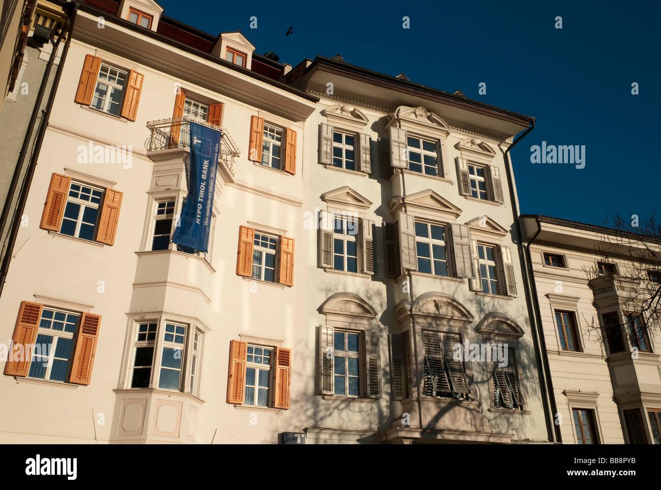 Hypo Tirol Bank In The Historic Town Centre Of Bolzano Alto
