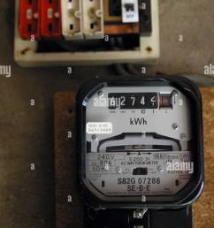 smart meter fuse box wiring diagram electric meter box stock photos electric meter box [ 866 x 1390 Pixel ]