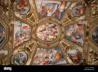 Ceiling paintings, church of Santa Maria in Trastevere