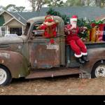 Old Truck Christmas High Resolution Stock Photography And Images Alamy