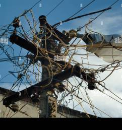 indian wiring stock photos indian wiring stock images alamy crazy wiring in india typical indian [ 1300 x 954 Pixel ]