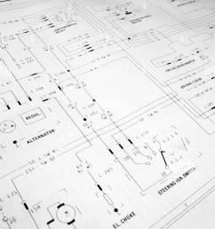 electrical wiring diagram stock image [ 866 x 1390 Pixel ]
