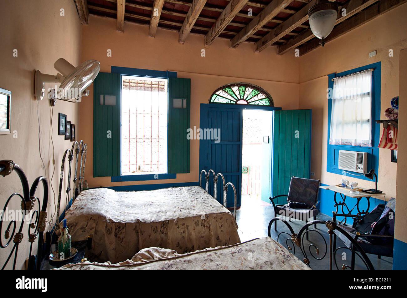 Interior of a casa particular Cuba Julio Bastidas 1826