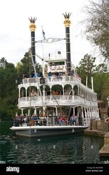 Disneyland Rides Usa Stock &