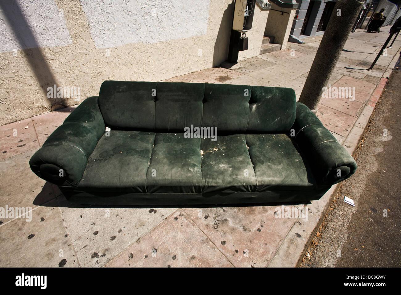 sofa army germany mart waco texas abandoned couch stock photos and