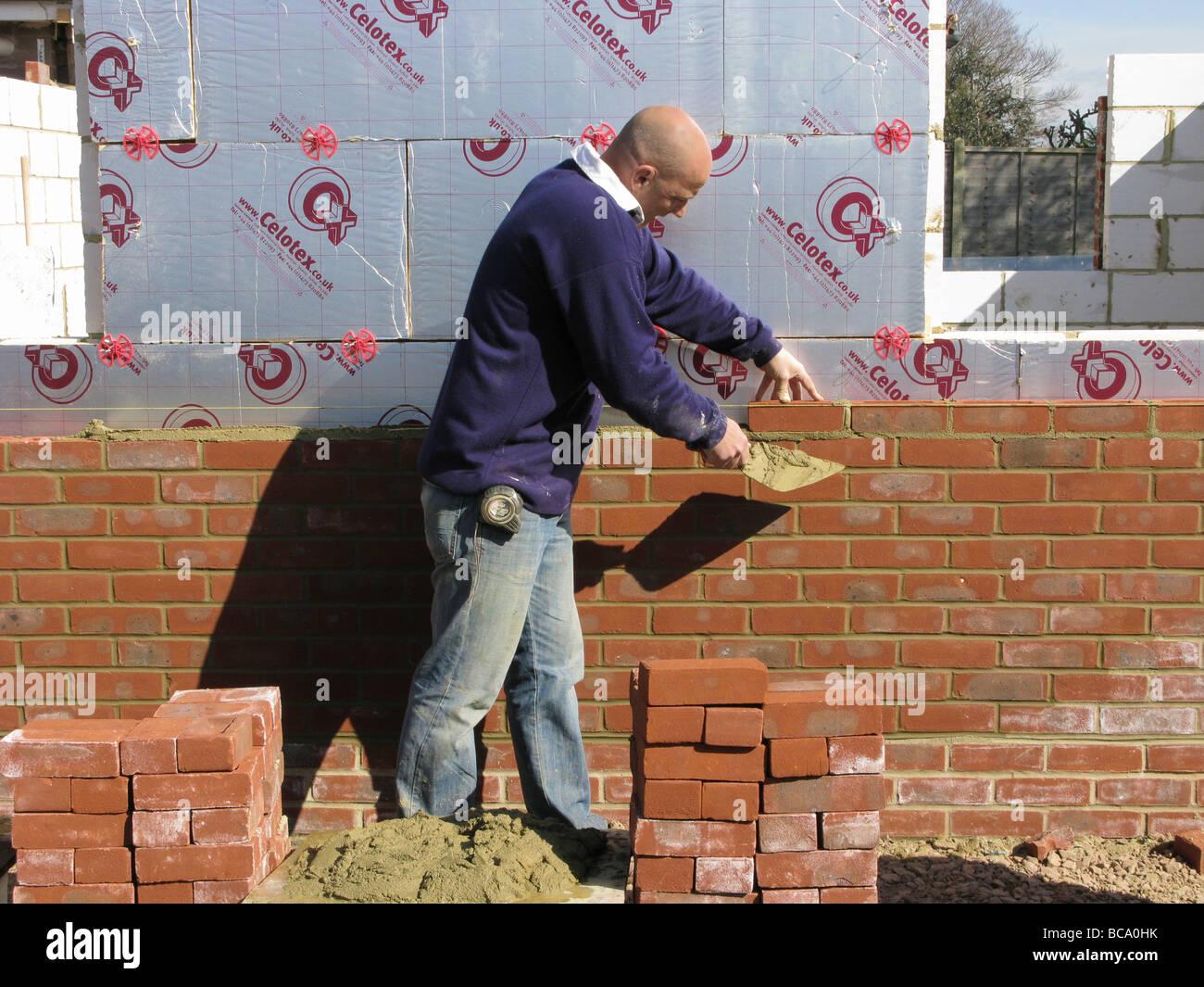 builder construction worker working