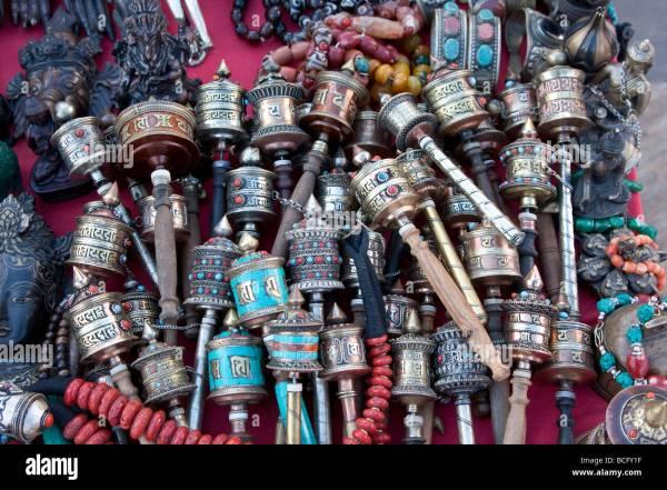 Handicrafts Kathmandu Nepal Stock &