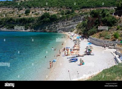 Makris Gialos Beach Zante Zakynthos Ionian Island Greece ...