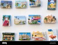 Cote d Azure fridge magnets France Stock Photo, Royalty ...