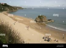 Town Of Tenby Wales. North Beach And Goscar