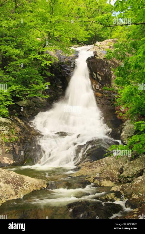 White Oak Canyon Falls Shenandoah National Park