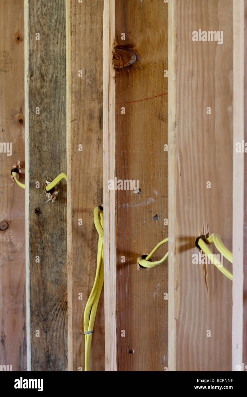 Wiring Through Wall Studs