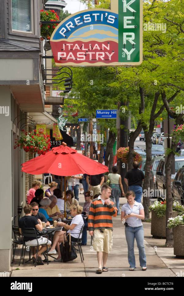Alfresco Dining Mayfield Road Little Italy Cleveland