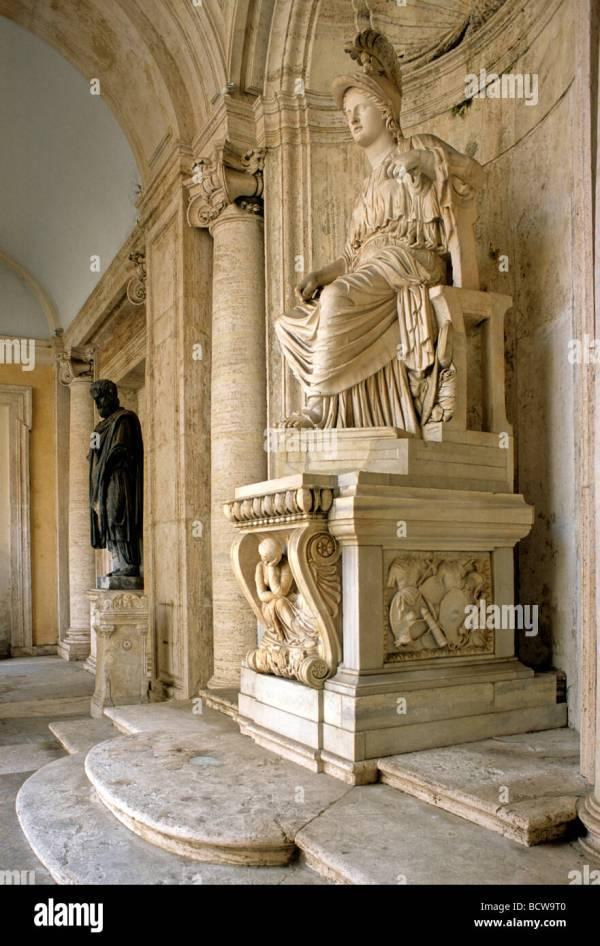 Capitoline Museum Rome Statues