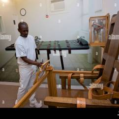 Florida Electric Chair Reading Beach Stock Photos Images Alamy Louisiana State Peniteniary Angola United States The In Prison Museum