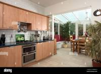 Kitchen Conservatory Dining Room Stock Photos & Kitchen ...