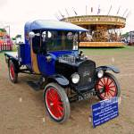 An Old Restored Model T Ford Truck At A Vintage Car Rally In Stock Photo Alamy