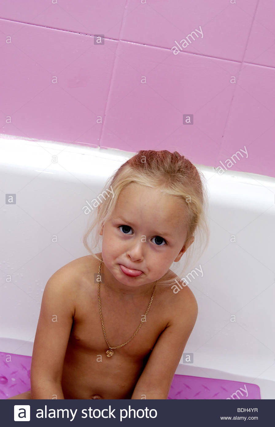 Little girl bath Stock Photo Royalty Free Image 25577995