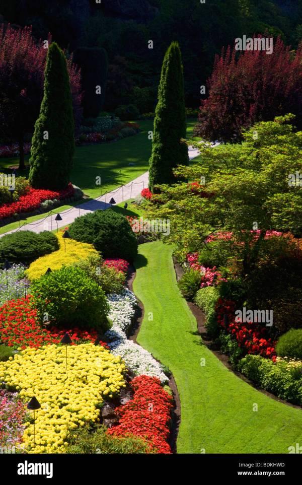 Butchart Gardens Canada Stock &