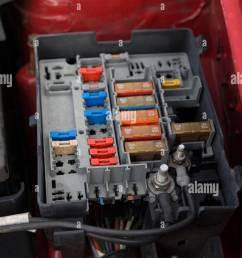 citroen berlingo fuse box stock photo 25645583 alamy electrical fuse box citroen berlingo fuse box [ 866 x 1390 Pixel ]