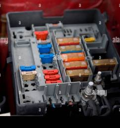 citroen berlingo fuse box stock photo 25645586 alamy citroen fuse box layout citroen berlingo fuse box [ 1300 x 956 Pixel ]