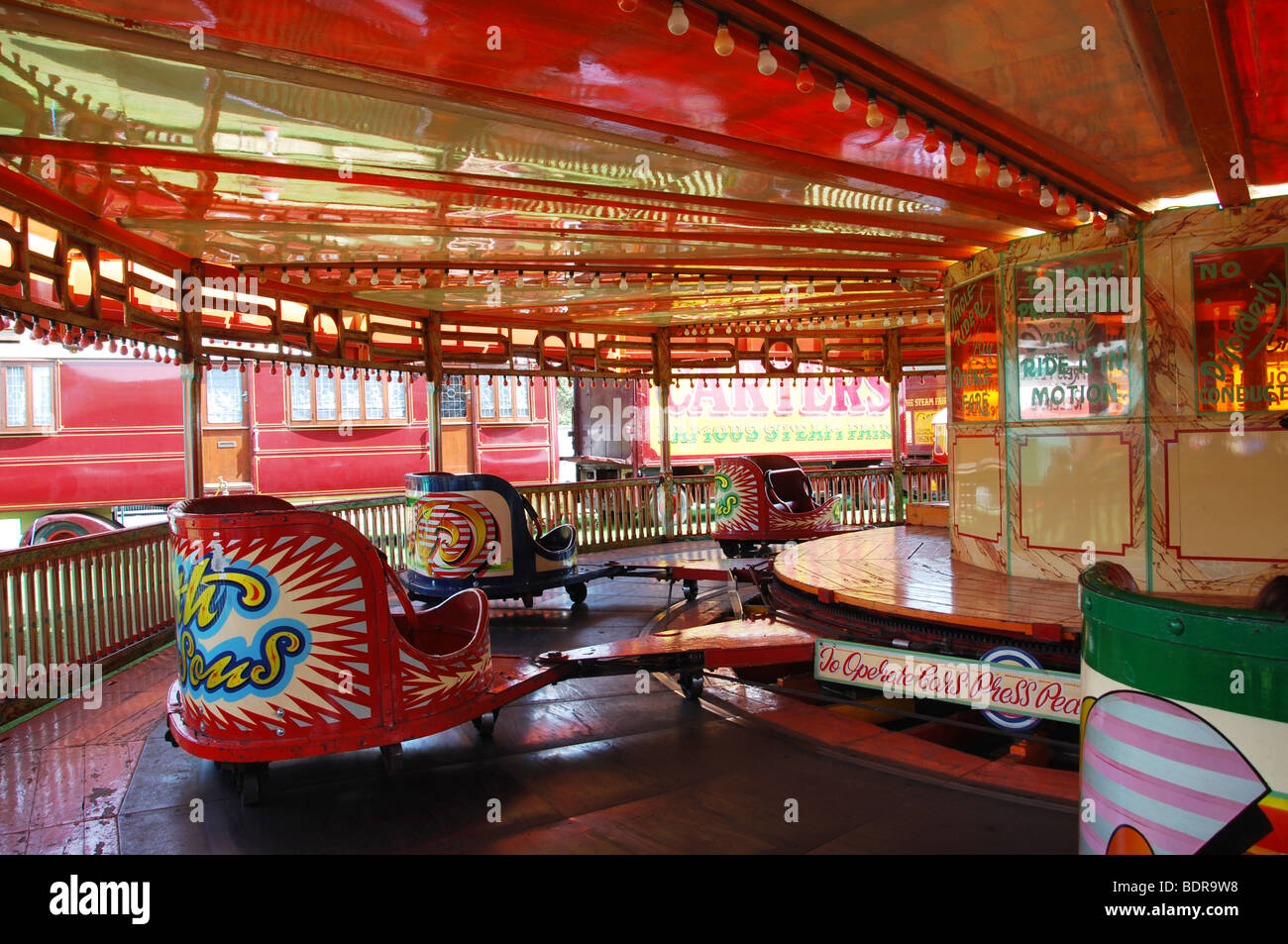 Carter's Oldfashioned Steam Fair With Nostalgic Rides At