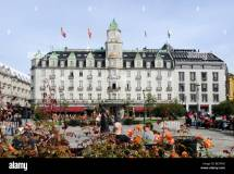 Grand Hotel And Cafe Karl Johans Gate Oslo