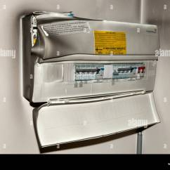 Electric Meter Box Wiring Diagram Uk Porsche 944 Diagrams Consumer Unit Stock Photos And Images