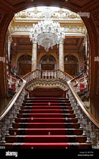 Crystal staircase, Dolmabahce Palace, Sultan's palace from ...