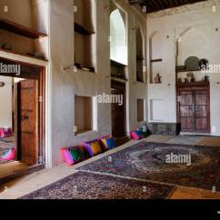 Arabian Living Room Furniture Sears Canada Traditional At Jabrin Castle Or Fort Dakhliyah Region Sultanate Of Oman Arabia Middle East