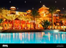 Pool And Grand Resort Hotel Hurghada Egypt Africa Stock
