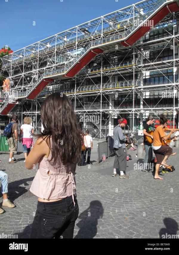 Centre Pompidou National Museum Of Modern Art Paris