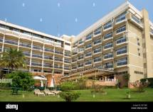 Exterior Of Hotel Des Mille Collines In Kigali