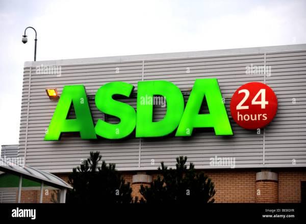 Asda Superstore Stock & - Alamy