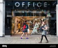 Office shoe shop, Oxford Street, London, England, UK Stock ...