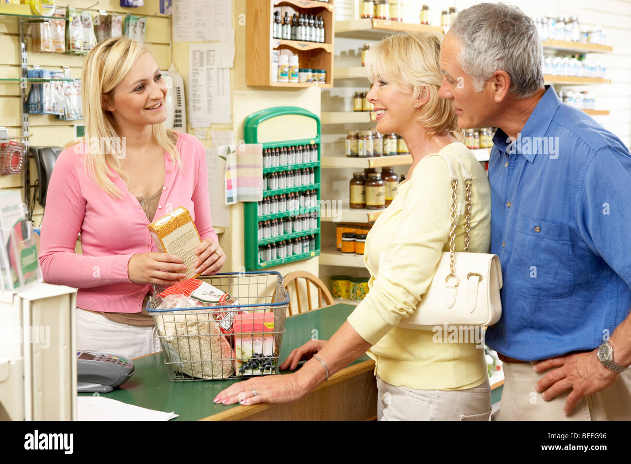 Health Food Store Resume