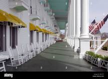 Grand Hotel Porch Stock &