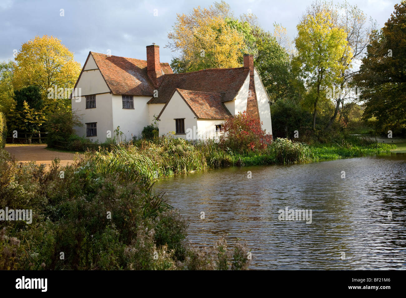 Fall Cottage Wallpaper Willy Lott Lott S Cottage House Flatford Mill Dedham Vale