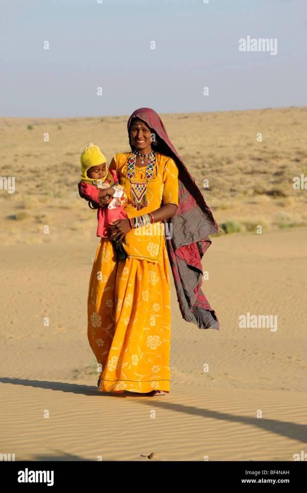 Women Thar Desert India