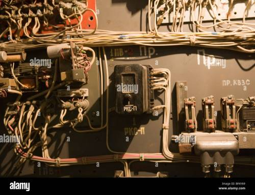 small resolution of complex old industrial electrical fuse box russia