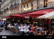 Paris France Champs Elysees Restaurant Pictures