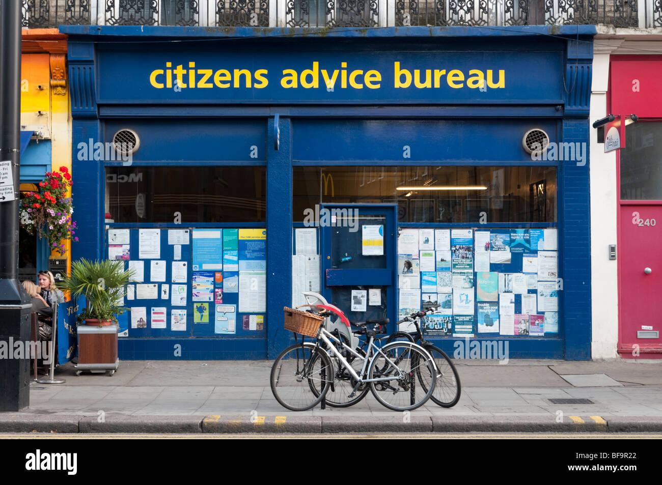 citizens advice bureau in london england uk