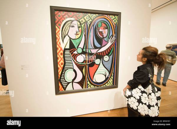 Pablo Picasso Moma Museum Of Modern Art Stock &