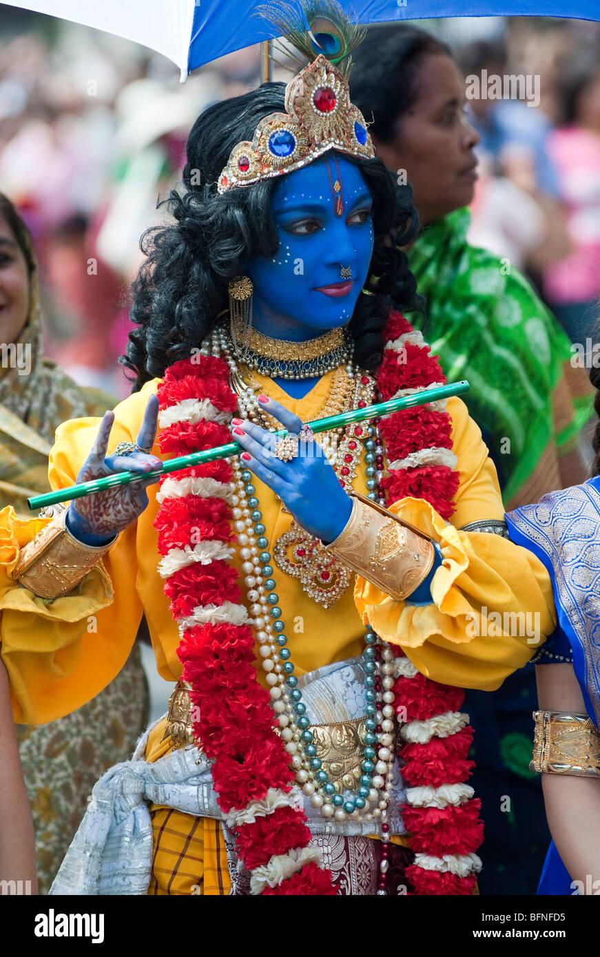 lord krishna stock photos