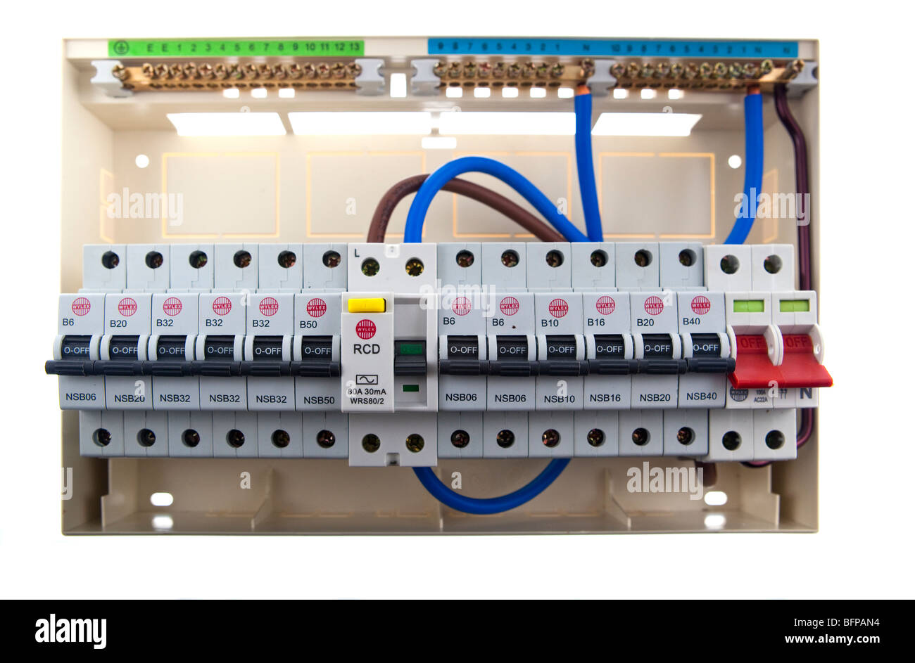 consumer unit wiring diagram split load animal cell labeled and functions wylex somurich