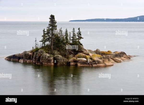 Near Island Lake Superior Ontario
