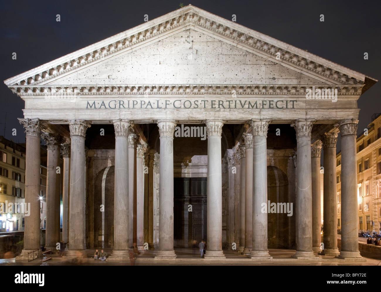 Ancient Roman Buildings Rome Italy Stock Photo Royalty
